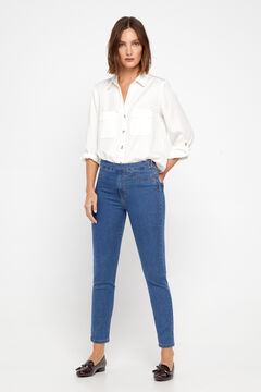 Cortefiel Sustainable wash Sensational jeggings Blue jeans