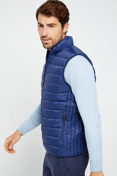 Cortefiel Ultralight thermolite gilet Navy