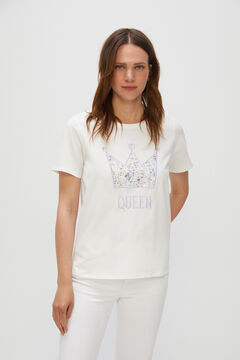 Cortefiel Special Mother's Day t-shirt White