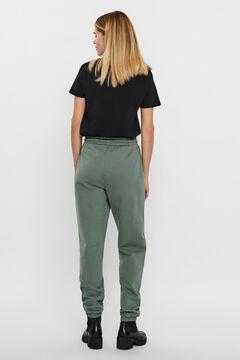 Cortefiel Jogger trousers Pistachiogreen
