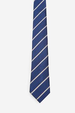 Cortefiel Corbata rayas Azul