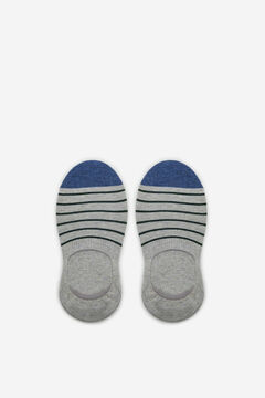Cortefiel EcoCoolmax® no-show socks Gray