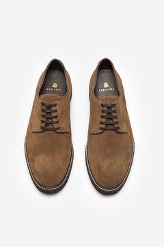 Cortefiel Zapato cordones piso flexible Gris