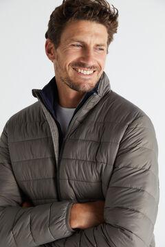 Cortefiel Ultralight thermolite jacket Brown