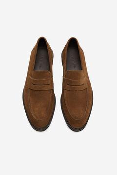 Cortefiel Urban rubber sole loafer Stone