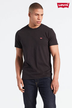 Cortefiel Original Levi's® logo chest t-shirt Black