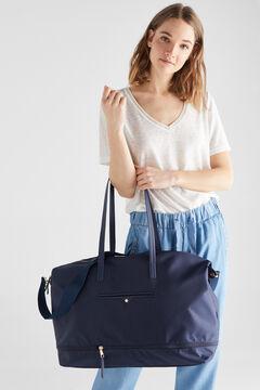 Cortefiel Extendable travel bag Navy