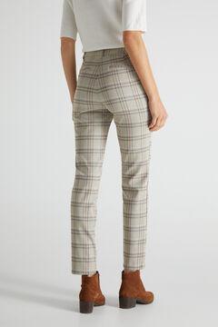 Cortefiel Skinny trousers Beige