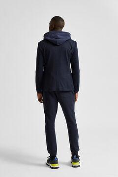 Cortefiel Slim blazer Turquoise