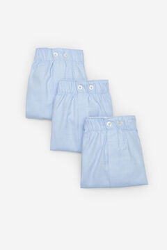 Cortefiel 3-pack woven boxers Bluejeans