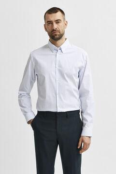 Cortefiel Slim fit men's shirt White