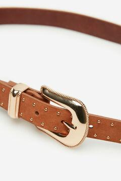 Cortefiel Cowboy belt Tobaco