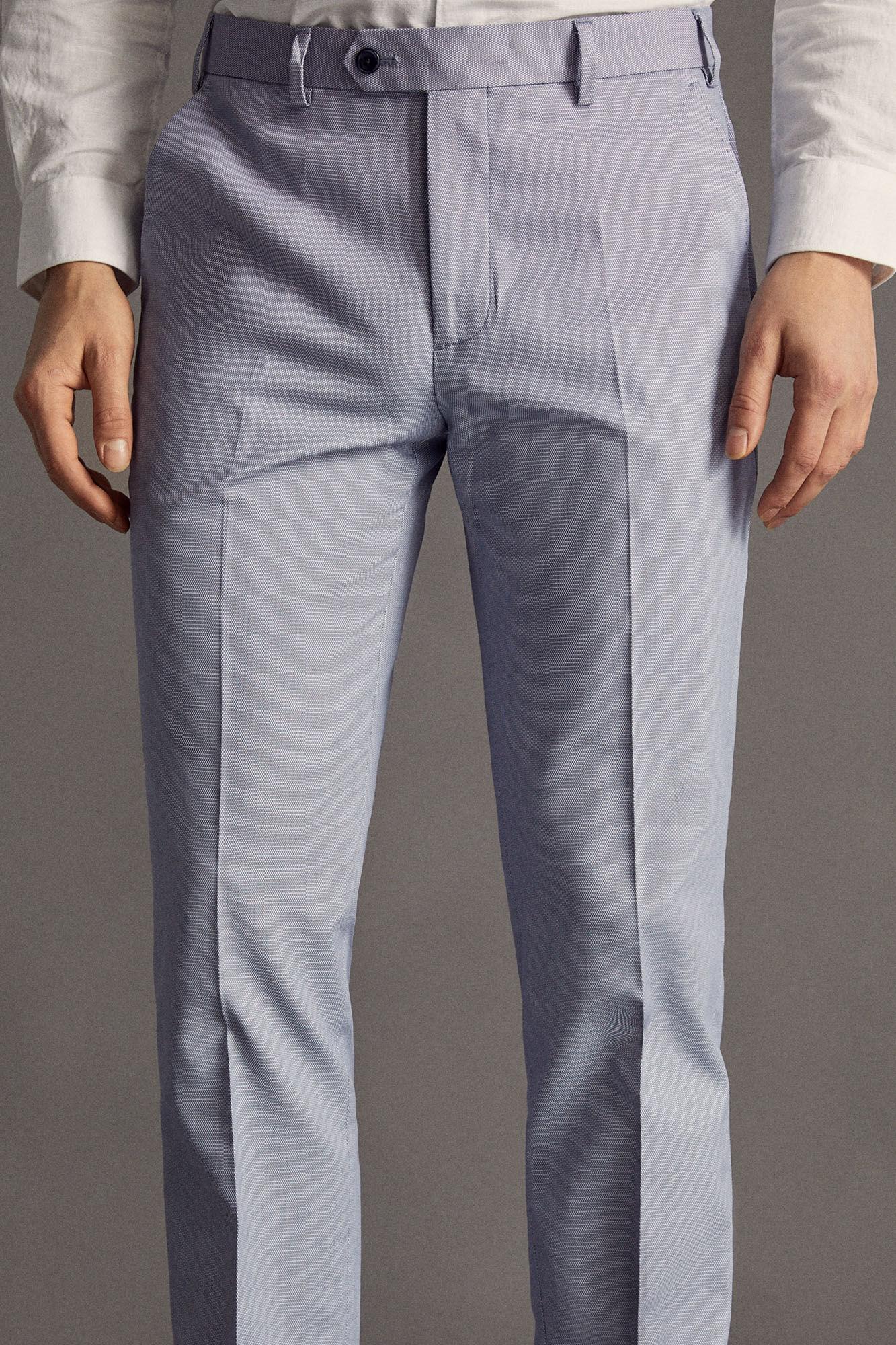 7ddd93962 pantalón algodón ojo perdiz slim fit