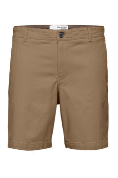Cortefiel Chino Bermuda shorts Green