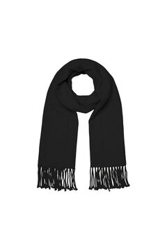 Cortefiel Recycled polyester scarf  Black