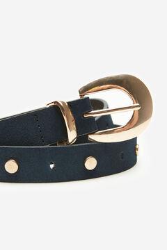 Cortefiel Studded belt Navy