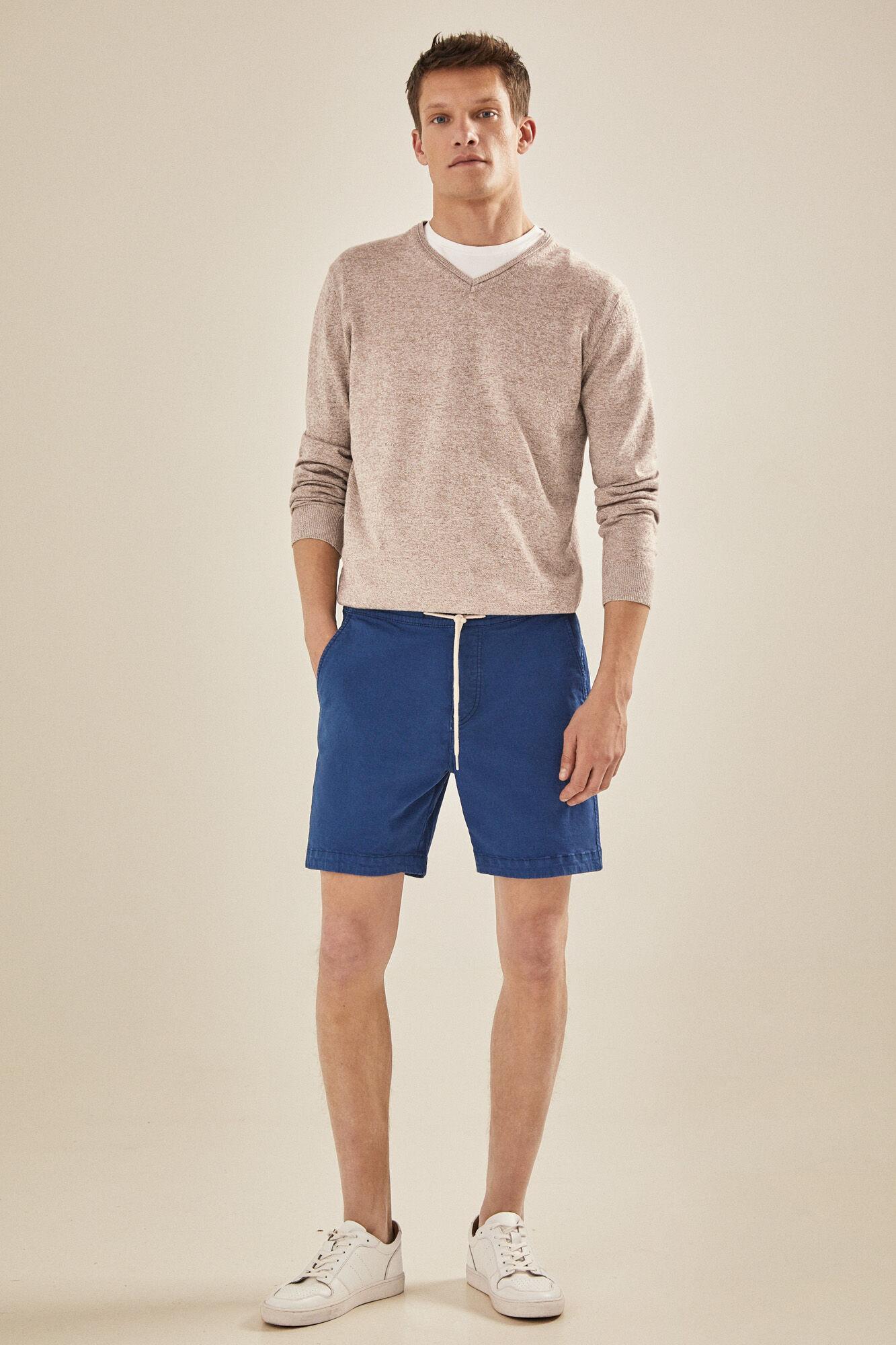 f43f6f676b Bermuda shorts with cord