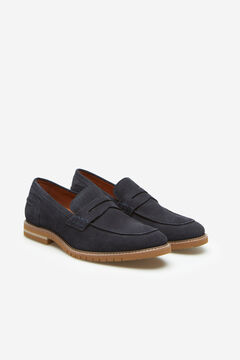 Cortefiel Rubber sole loafer Navy