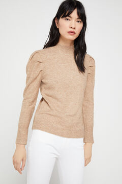 Cortefiel Soft collection jumper Brown