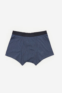 Cortefiel Jersey-knit boxers Navy