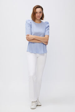 Cortefiel Stretch fabric body stocking Blue