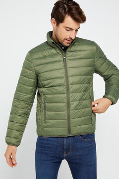 Cortefiel Ultralight thermolite jacket Green