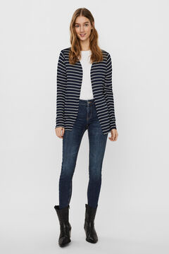 Cortefiel Long-sleeved jacket Navy