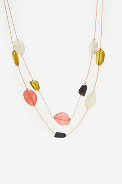 Cortefiel Multicoloured necklace Natural