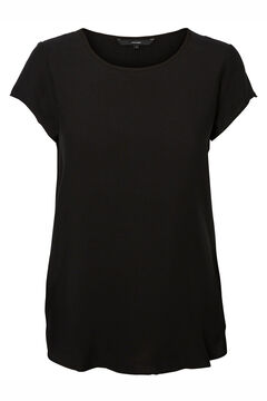 Cortefiel Sustainable blouse Black