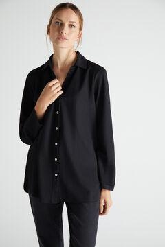Cortefiel Comfort shirt Black