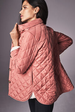 Cortefiel Quilted over garment Pink