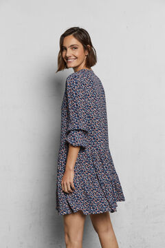Cortefiel Short sustainable dress Natural