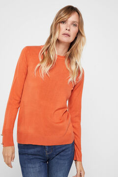 Cortefiel Soft touch jumper Red