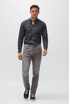 Cortefiel Slim grey indigo jeans Gray