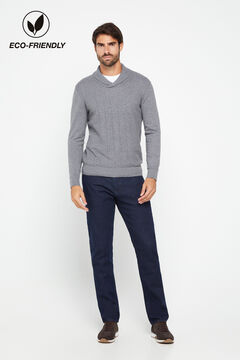 Cortefiel Sustainable wash jeans Navy