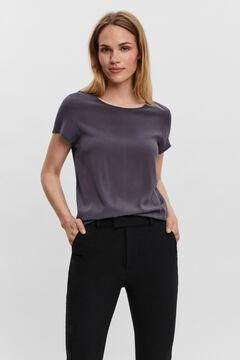 Cortefiel Essential LencingTM EcoveroTM T-shirt Royal blue