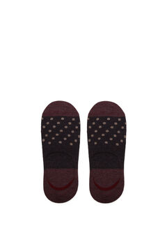 Cortefiel Invisible socks with Coolmax® Dark brown