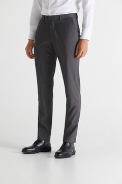 Cortefiel Grey slim fit trousers Gray