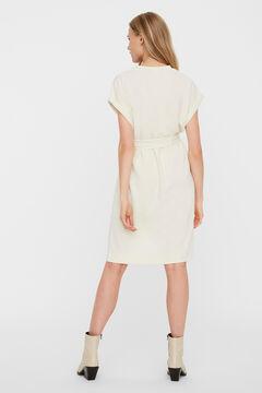 Cortefiel Short dress Stone