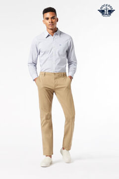 Cortefiel Supreme Flex™ skinny Dockers® trousers with Maximum Comfort fabric Stone