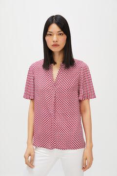 Cortefiel Flowing blouse  Beige