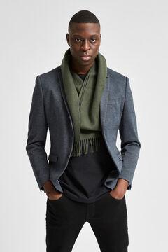 Cortefiel Slim blazer Gray