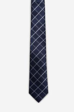 Cortefiel Corbata cuadros Azul
