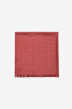 Cortefiel Geometric fine scarf Purpura