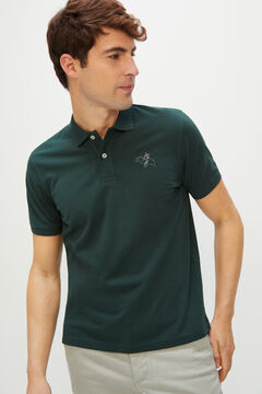 Cortefiel Looney Tunes short-sleeved polo shirt Pistachio green