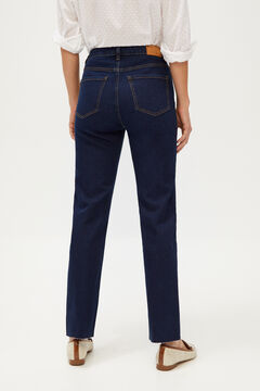Cortefiel Straight jeans Royal blue