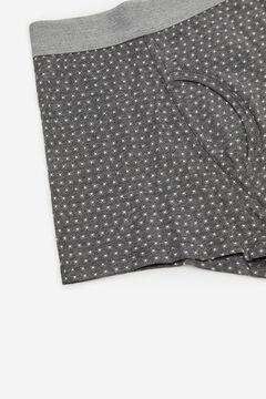 Cortefiel Jersey-knit boxers Dark gray