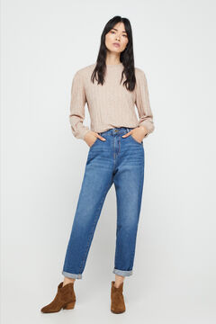 Cortefiel Jeans slouchy fit Azul