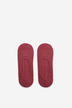 Cortefiel Zig zag pinkie socks Purpura
