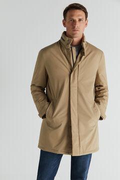 Cortefiel Waterproof trench coat Camel